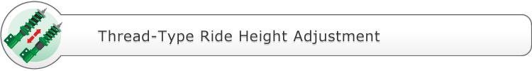 Thread-Type Adjustment